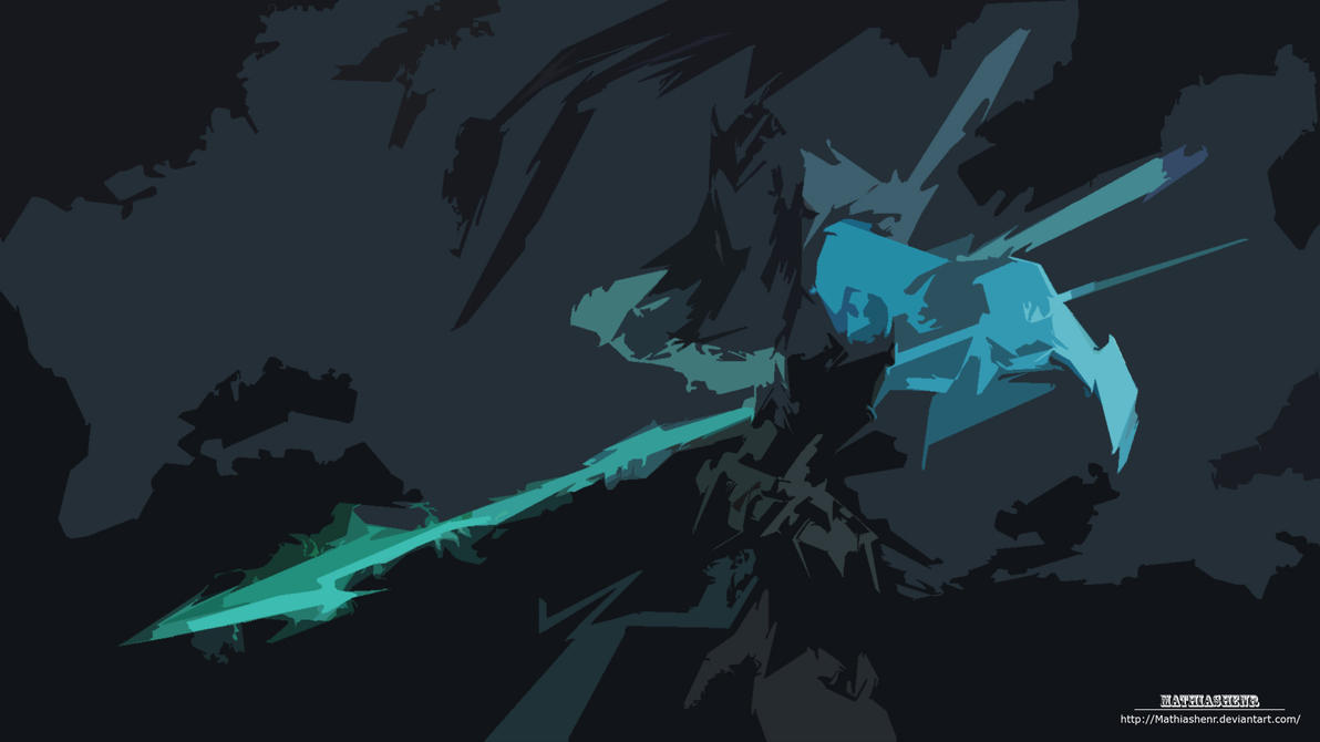 Kalista League Of Legends Minimalist Wallpaper By: League Of Legends Kalista HD Wallpaper CUTOUT By