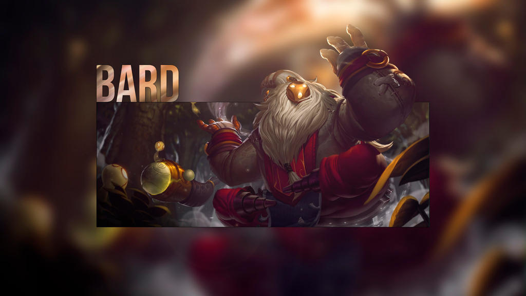 league of legends bard wallpaper by mathiashenr on deviantart