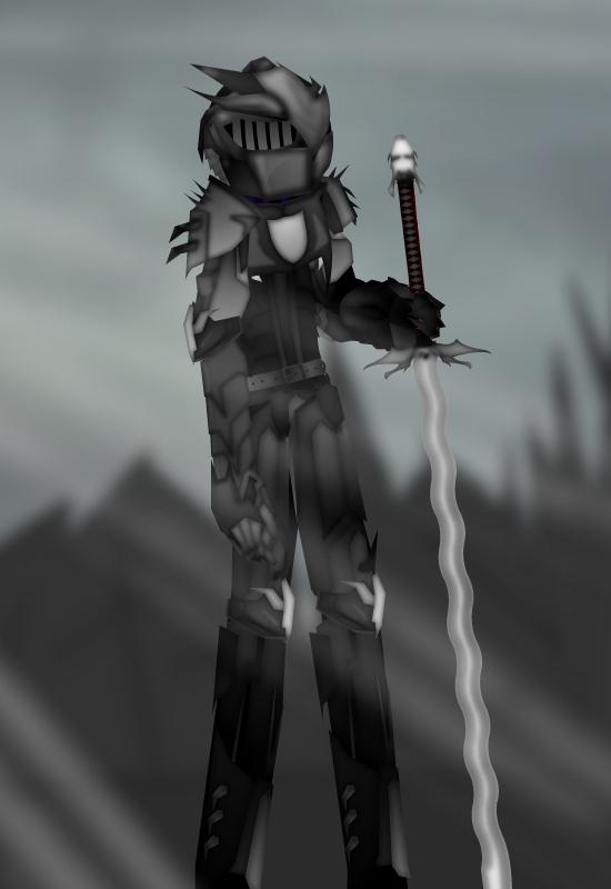 The Grey Knight by xDeadbrainx