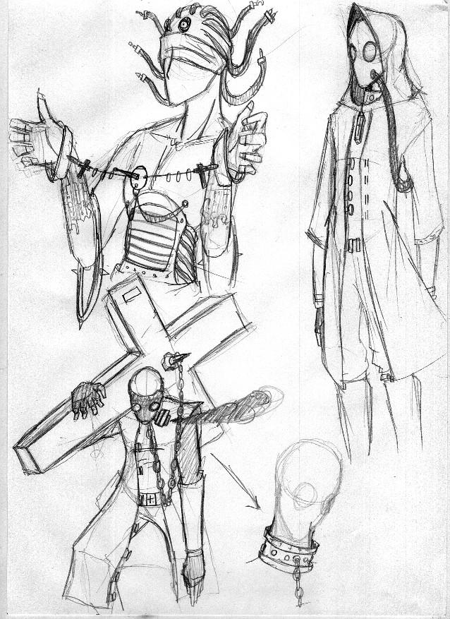 Persona sketchies no.1 by xDeadbrainx