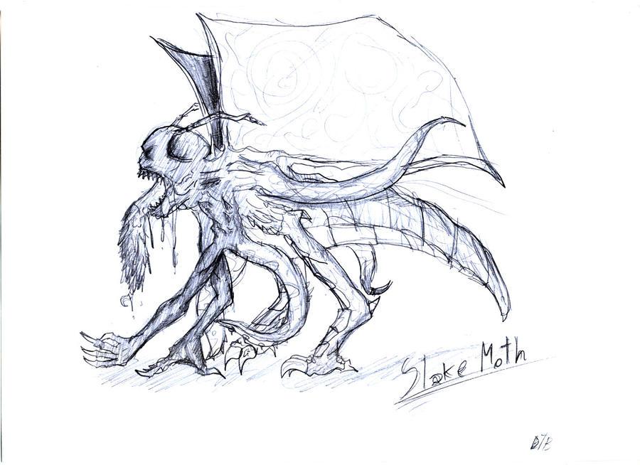 Slake Moth by xDeadbrainx