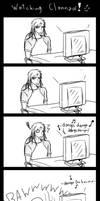 Watching Clannad