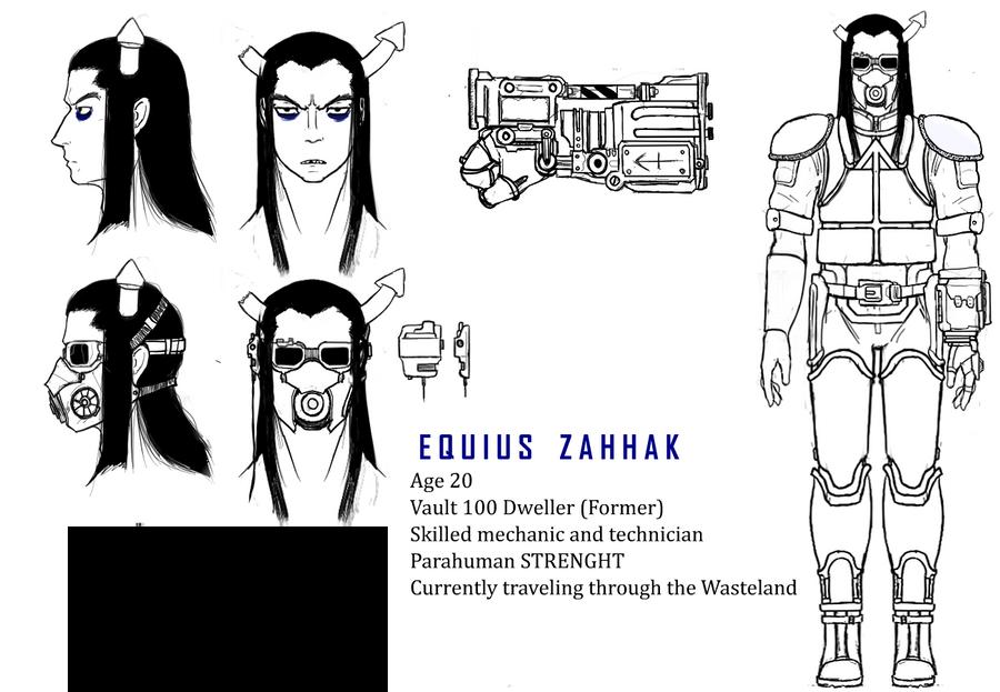 FalloutStuck AU - Equius by xDeadbrainx