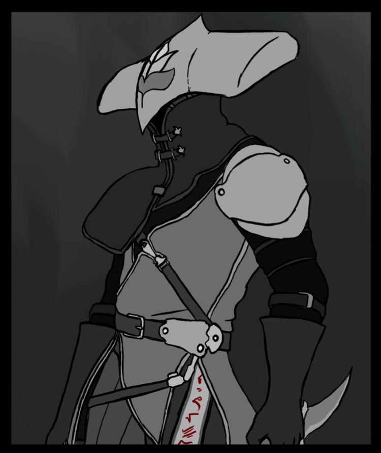 War Souls - Black Leather Loki by xDeadbrainx