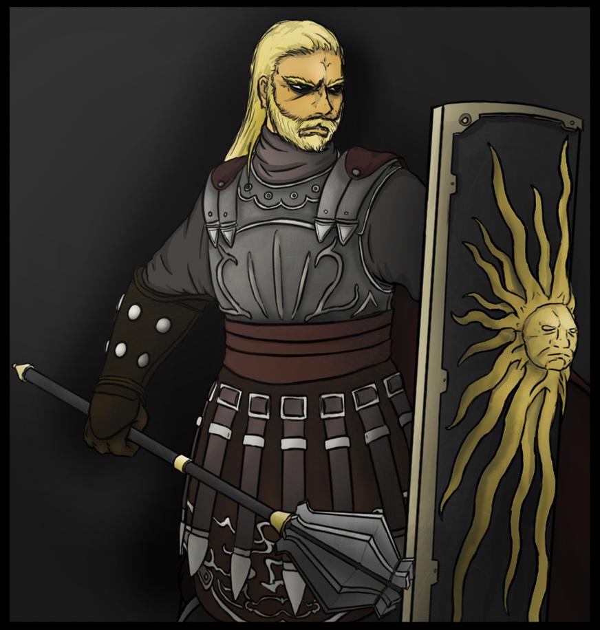 Dark Souls II - Basil by xDeadbrainx