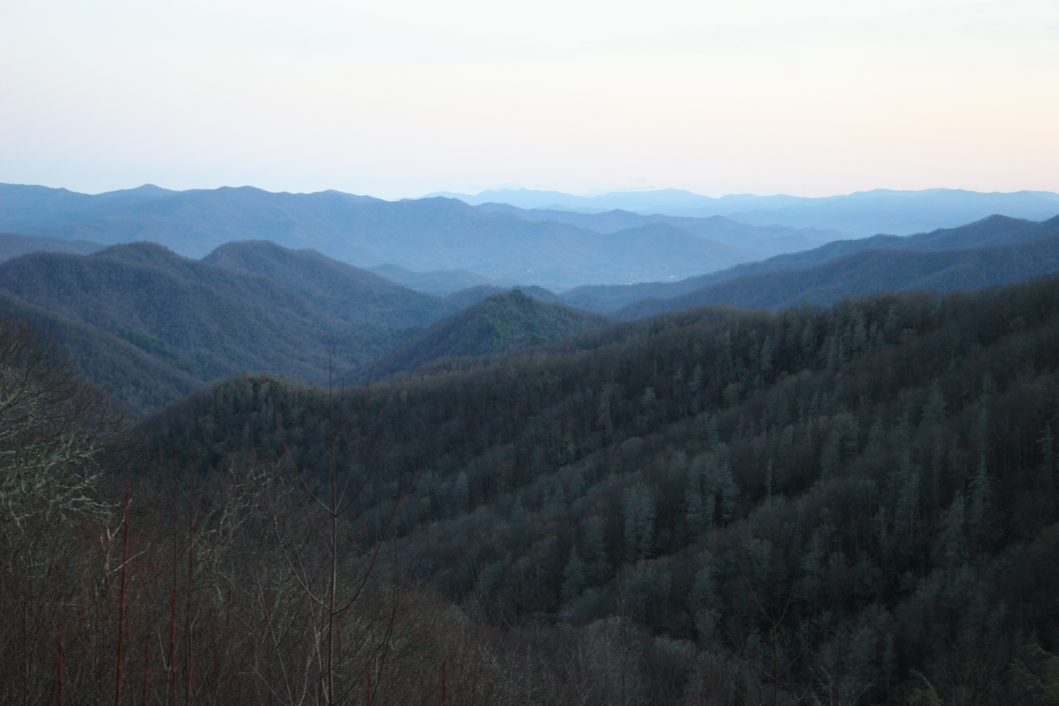 Great Smokey Mtns by Spanglerart
