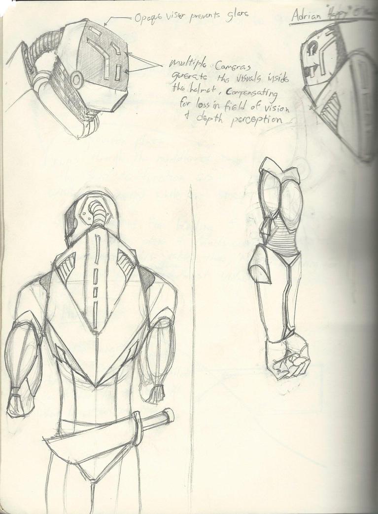 Flight suit Idea by Aktherion
