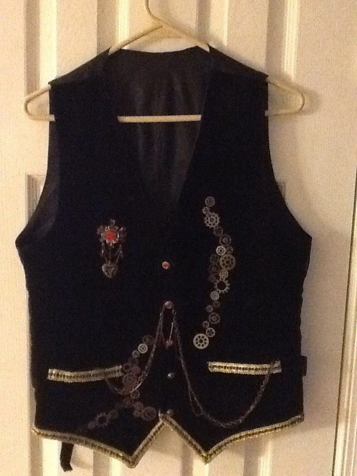 Steampunk vest by KGilly812
