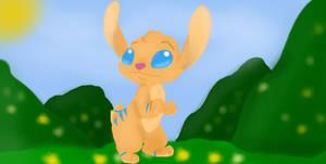 Stitch Bunny-Comission
