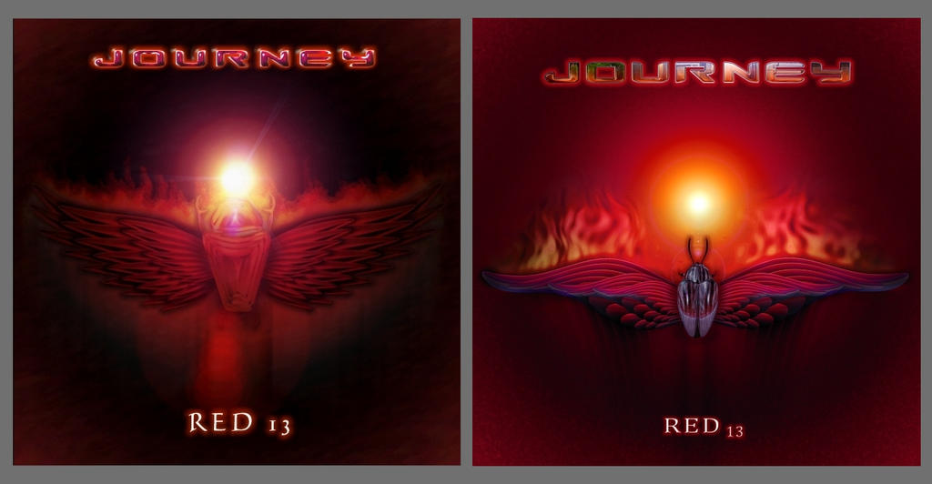 Journey - Red 13 Old and New by ChristopherPayne