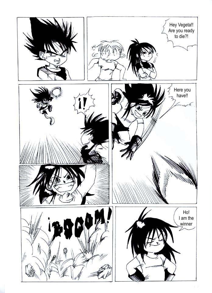 BULMA IN VEGIITASEI PAGE 17 by DRAGONBALLfanmangas