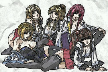 Bible Black - drawing by AraizCH