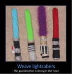 Weave Lightsabers