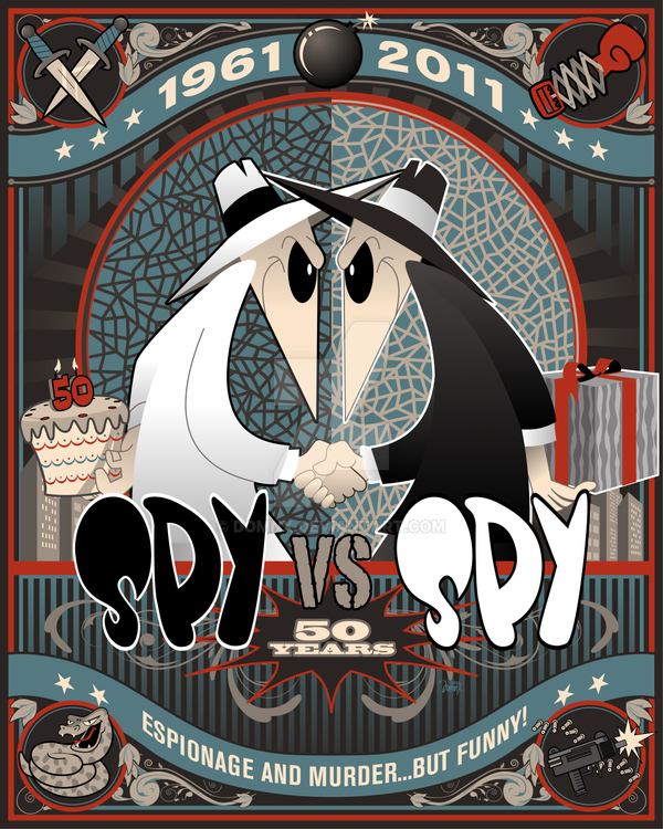 Spy Vs Spy 50 By Domnx On Deviantart