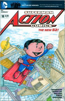 Superman-Sketch Cover Variant