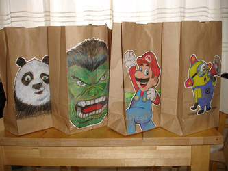 Lunch Bag Art