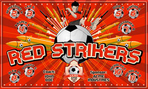 Banner-Red Strikers