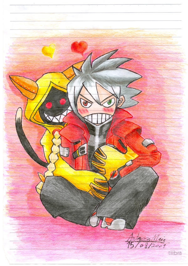Ragna bloodedge and taokaka by bowseganonlink on DeviantArt