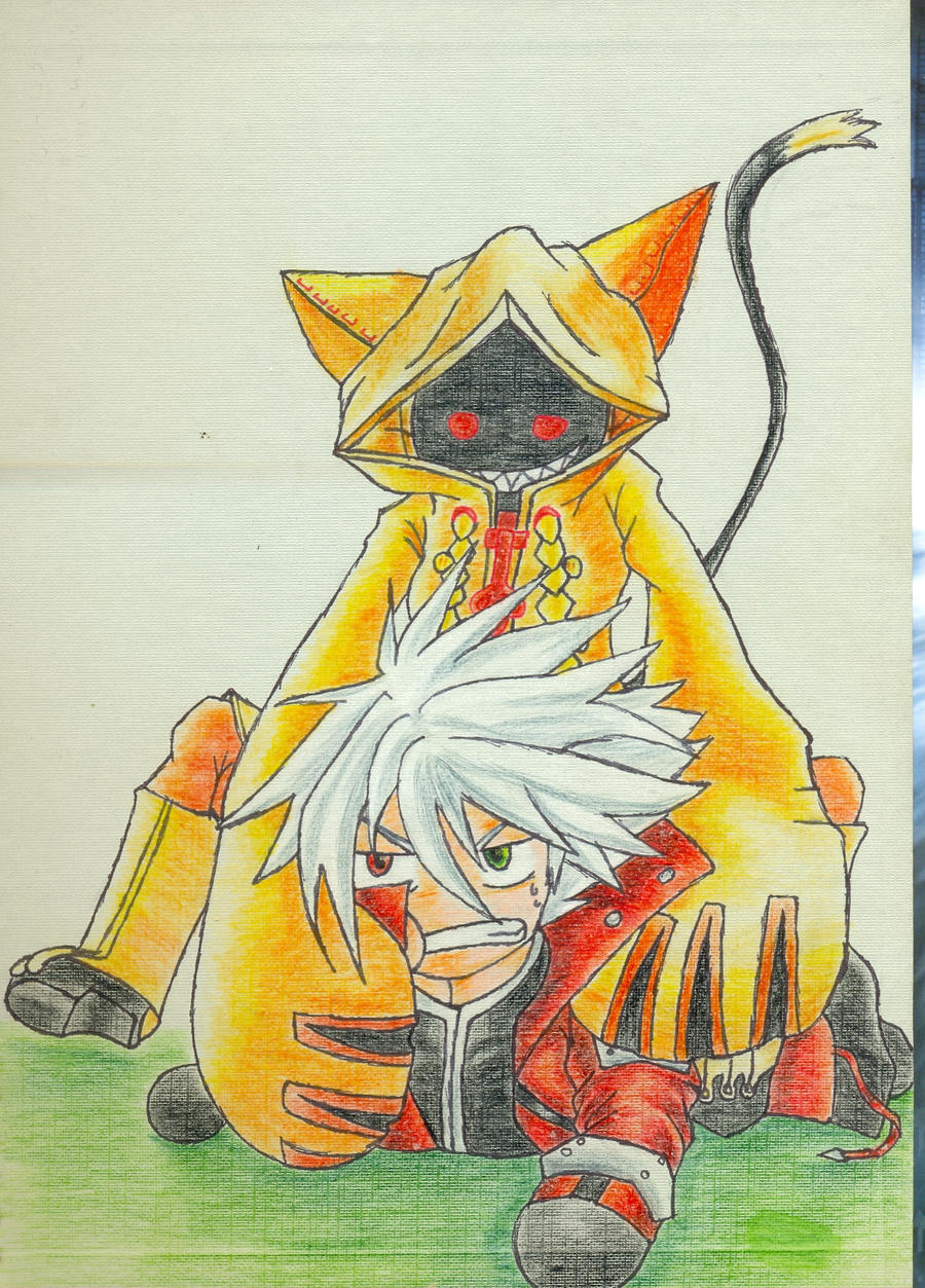 Taokaka and Ragna part2 by bowseganonlink on DeviantArt