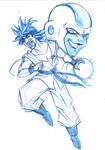Goku and Freezer