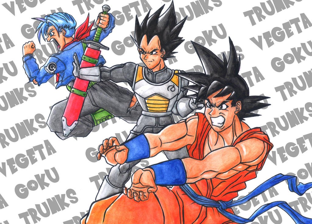 Dragon Ball Super by greatpunch10