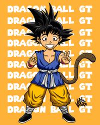 Son Goku kid GT by greatpunch10