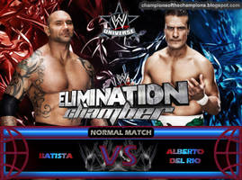 WWE Elimination Chamber 2014 by Jahar145