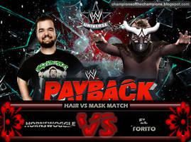 WWE Payback 2014 - Hornswoggle vs El Torito by Jahar145