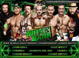 WWE Money in the Bank 2014 - Ladder Match by Jahar145