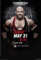 WWE Elimination Chamber Official Poster by Jahar145