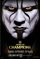 WWE Night of Champions 2015 Official Poster by Jahar145