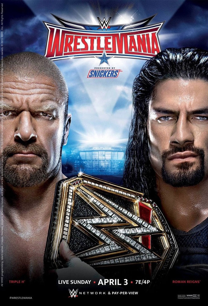 WWE Wrestlemania 32 Official Poster by Jahar145