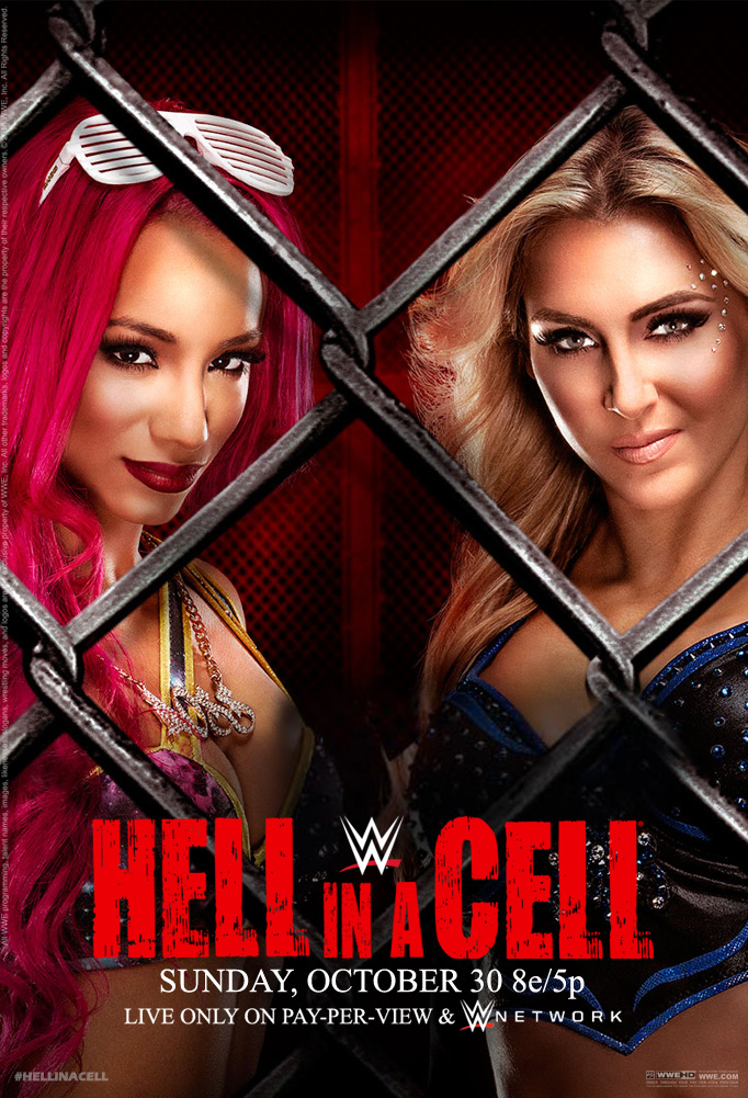 WWE Hell in a Cell 2016 Official Poster by Jahar145