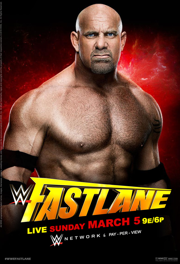 WWE Fastlane 2017 Official Poster by Jahar145