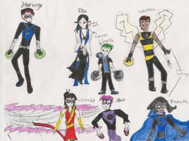 Teen Titans Children by GoldenRose101