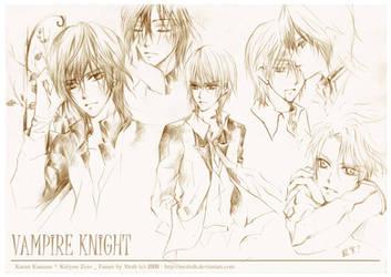 Vampire Knight : Night 001 by mrsloth