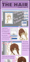 Tutorial : How to_Hair Part
