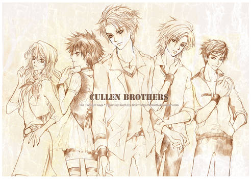 Twilight : Cullen Brothers