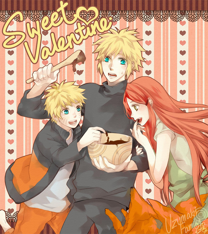 Naruto : Our Valentine by mrsloth on DeviantArt