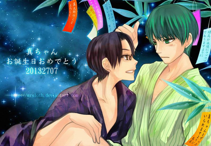 Kuroko : HBD 0707 by mrsloth