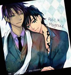 TMI : Alec and Magnus 003 by mrsloth
