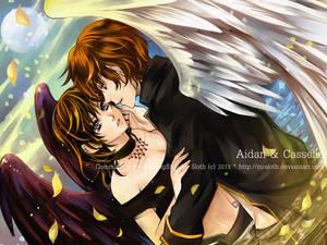 Commission : Aidan and Casselia