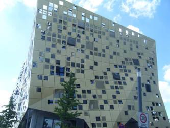 Cheese Building by xxRomanoForeverxx