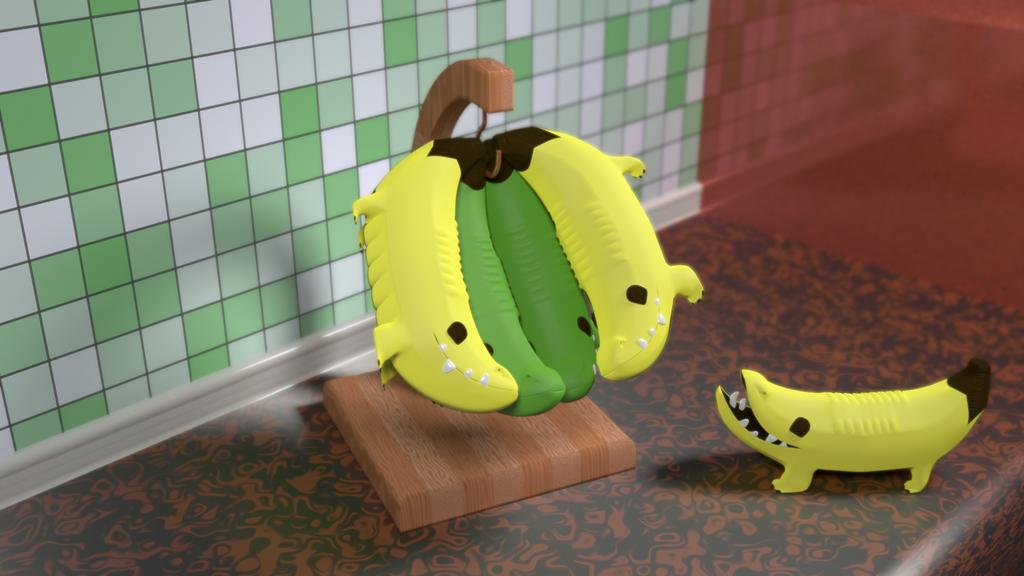 Banana Hanger by picano