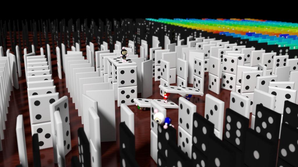 Dominos by picano