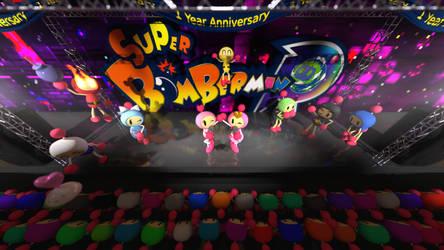 Super Bomberman R 1st Anniversary by picano