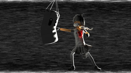 Punching Bag by picano