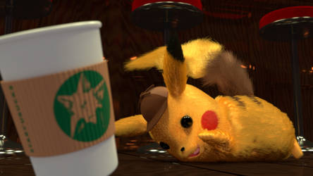 Detective Pikachu by picano