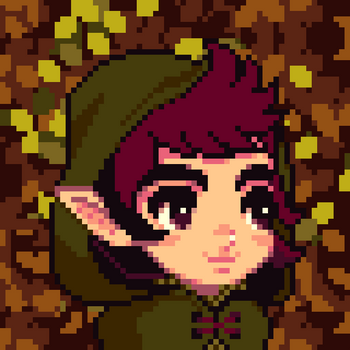 Wood elf portrait
