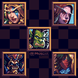 Portrait studies Pt III - Warcraft